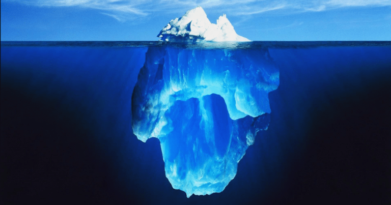 The Human Iceberg
