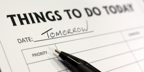 Procrastination, A Thief of Time – Do It Now